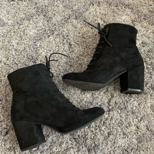 A New Day Suede Booties